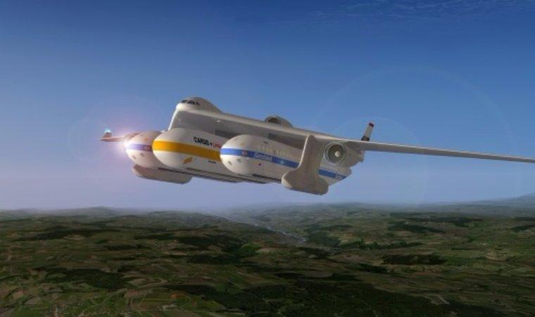 Американцы решили создать новый транспорт, скрестив самолет с поездом