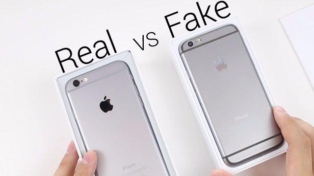 Подделка или оригинал: как распознать настоящий iPhone 6