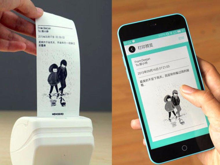 Китайские разработчики показали карманный принтер