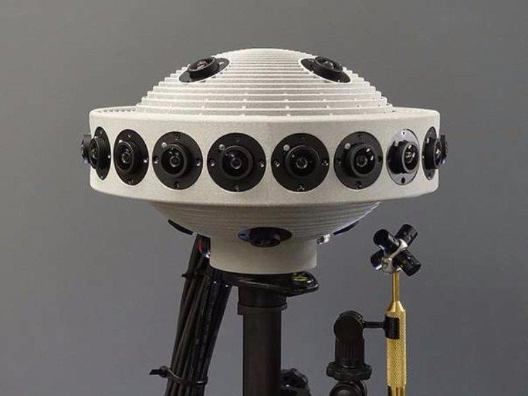 Японцы показали камеру, снимающую видео с 360-градусным обзором