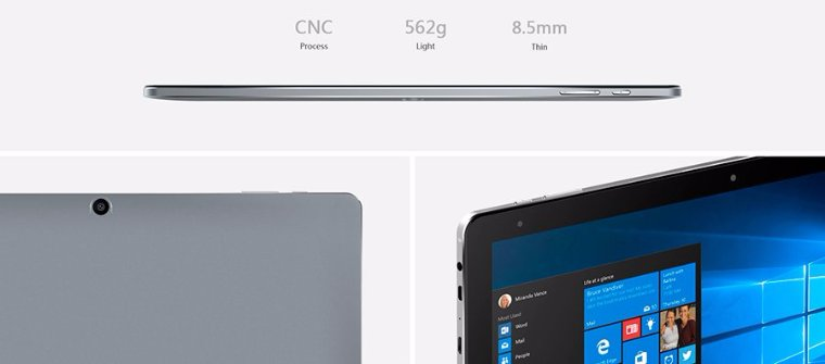 Китайская компания Chuwi готовится выпустить новый планшет с двумя ОС