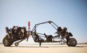 Изобретатель из Канады создал гибрид автомобиля и гирокоптера