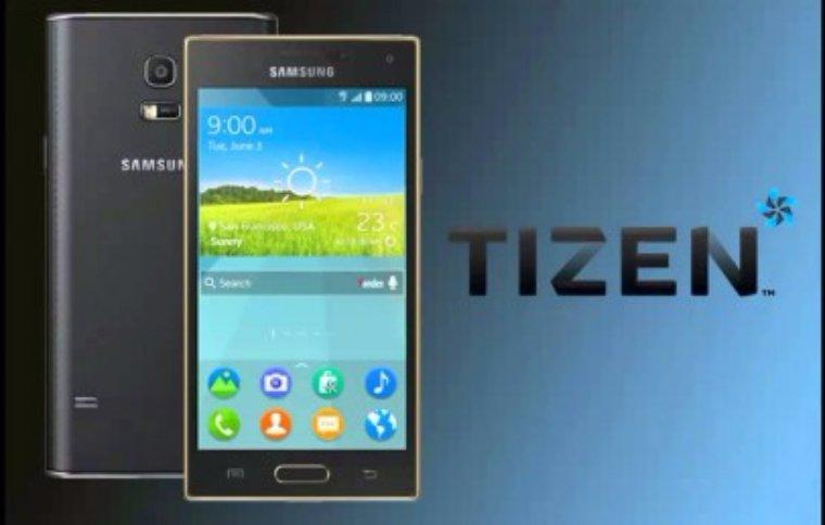 Samsung показал новый смартфон на ОС Tizen 2.4