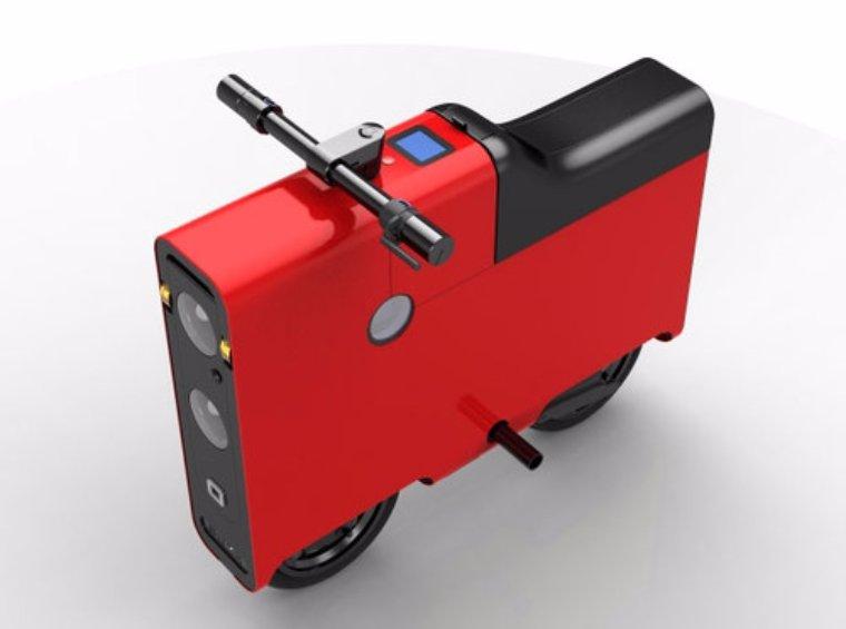 BOXX показала компактный и квадратный электроскутер