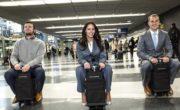 В Чикаго показали чемодан, который может катать своего владельца по аэропорту