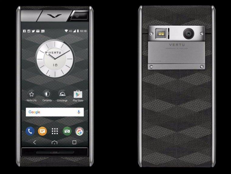 Люксовая компания Vertu показала «бюджетный» смартфон за 4200 долларов