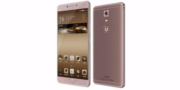 Gionee показала новый смартфон