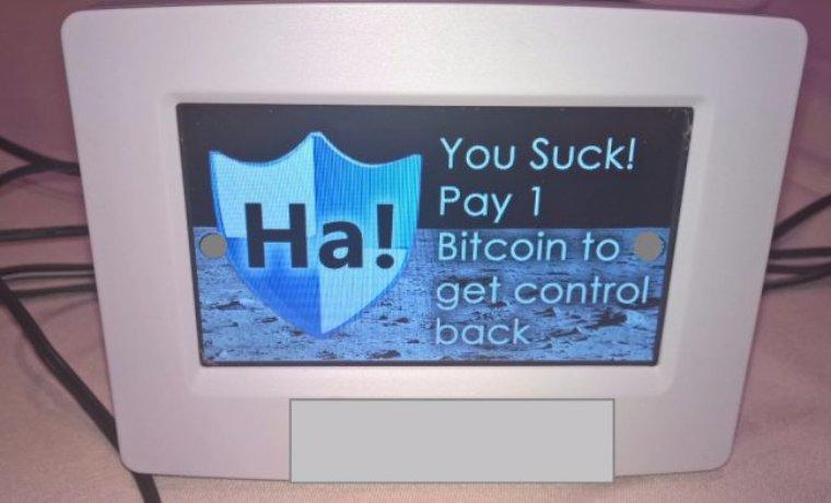 Хакерам удалось взломать термостат