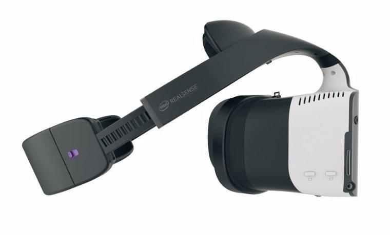 Intel анонсировала выход совмещенной гарнитуры виртуальной реальности