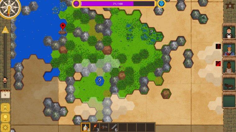 Исследуй мир и стань знаменитым путешественником с новой игрой The Curious Expedition
