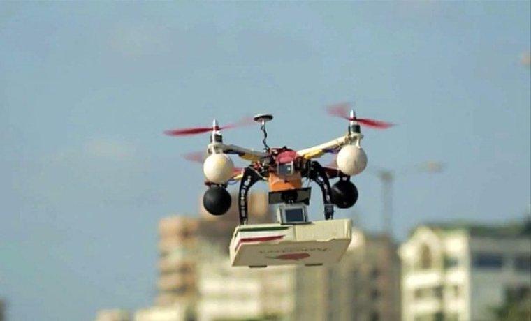 Американцы предлагают доставлять еду студентам с помощью дронов