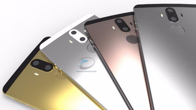 Флагман Huawei Mate 9 получит функцию сверхбыстрой зарядки
