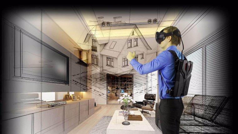 Начались продажи рюкзака виртуальной реальности