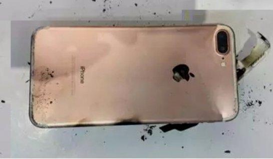 Очередной iPhone 7 Plus взорвался во время падения