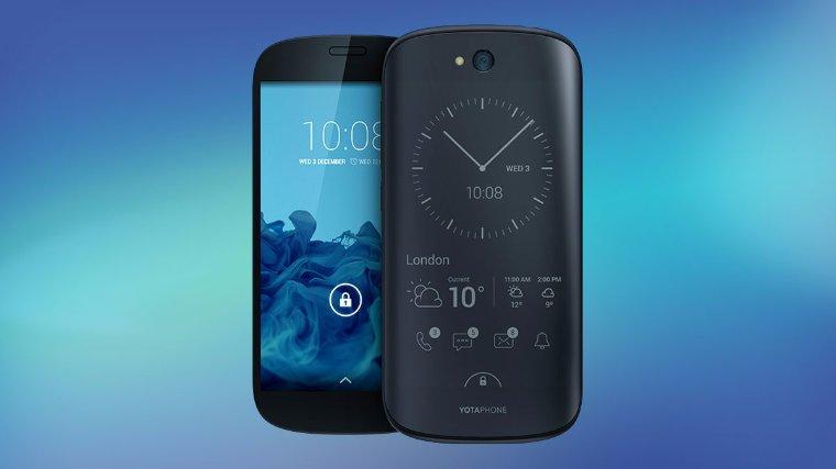 В Китае российский смартфон YotaPhone 2 можно купить по рекордно низкой цене
