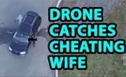 Ревнивый муж узнал об измене жены с помощью беспилотника