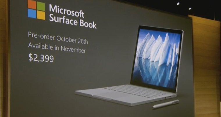 Состоялась презентация новой линейки ноутбуков Surface