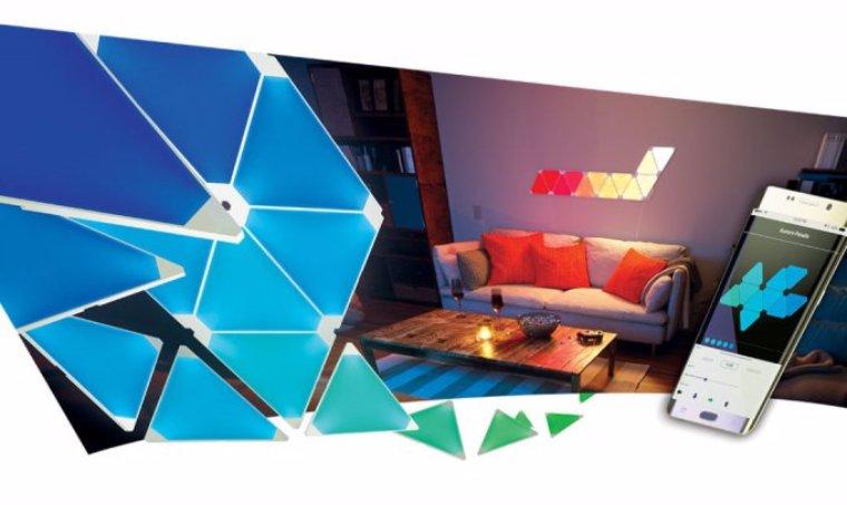 Nanoleaf презентовала светодиодные панели, которые можно сложить в любую конструкцию