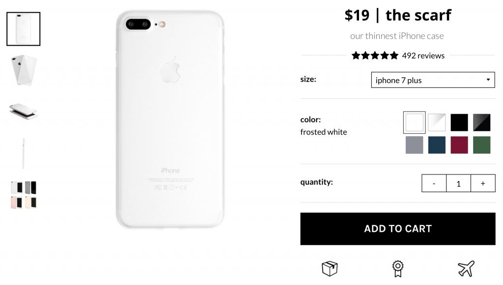 Вот это удача, за  получаем нереальный iPhone цвета Jet White