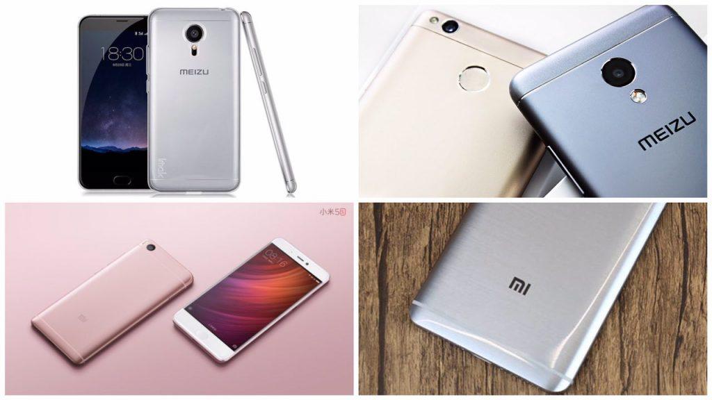 Великая битва: что лудше Xiaomi или Meizu??