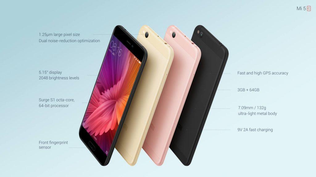 Xiaomi Mi 5c: первый смартфон Xiaomi с процессором Xiaomi
