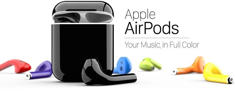58 новых оттенков AirPods