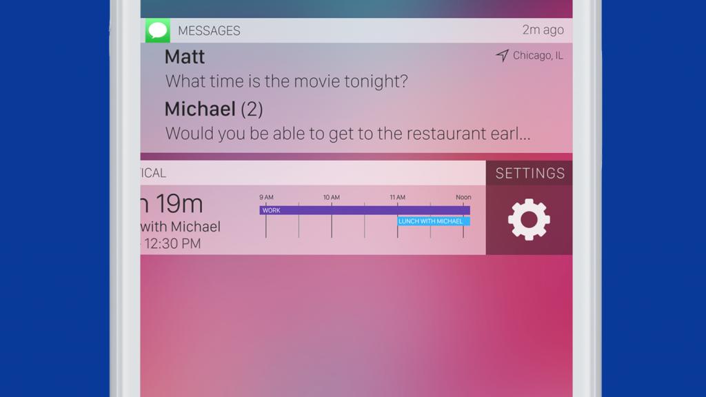 Концепт идеального экрана блокировки в iOS. Apple, сделай так же!