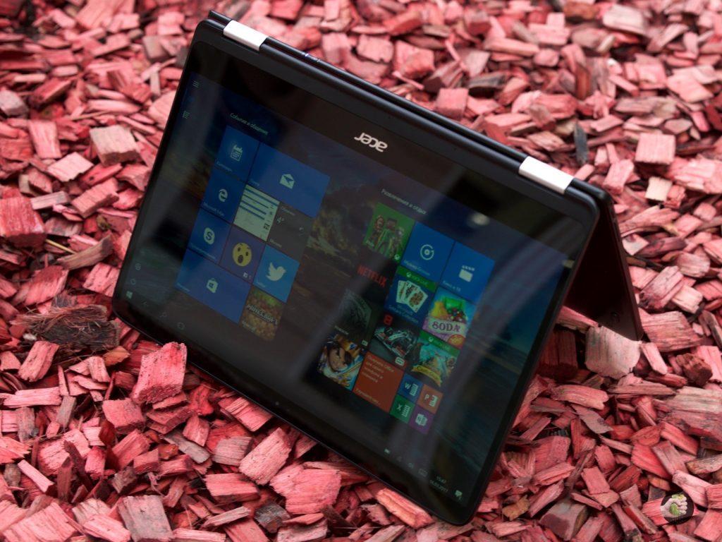 Обзор Acer Spin 7: тонкий и лёгкий трансформер