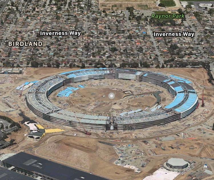 Apple добавила свой «космический корабль» в 3D карты