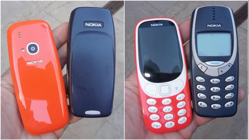 Versus: Nokia 3310 против Nokia 3310