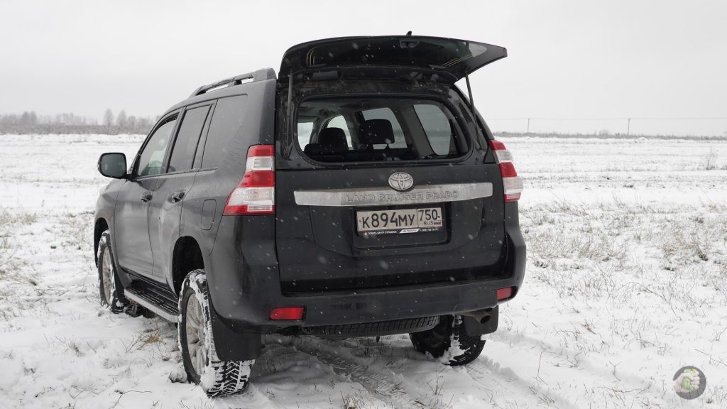 Как проводили зиму с Toyota Land Cruiser Prado