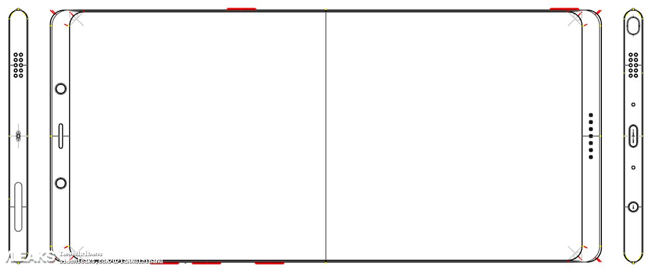 Первая утечка Galaxy Note 8
