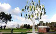 Во Франции «вырастили» дерево-ветрогенератор