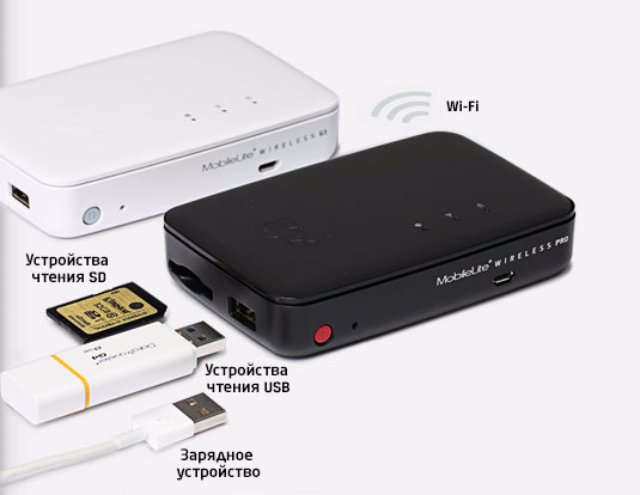 Беспроводной картридер Kingston MobileLite Wireless G3