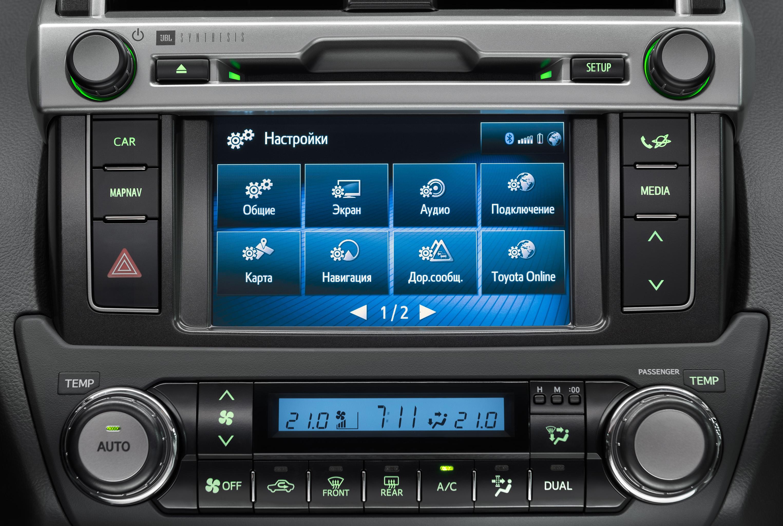 Toyota «прокачала» свои автомобили под iPhone