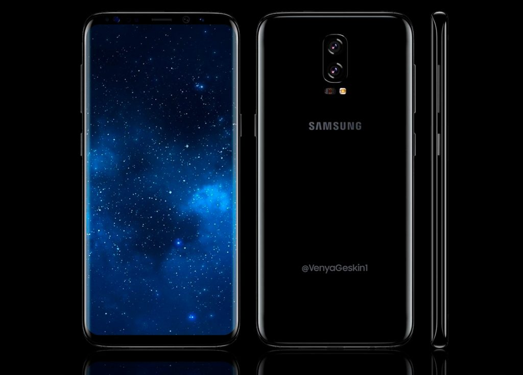 Samsung Galaxy Note 8: дизайн в духе S8 и двойная камера