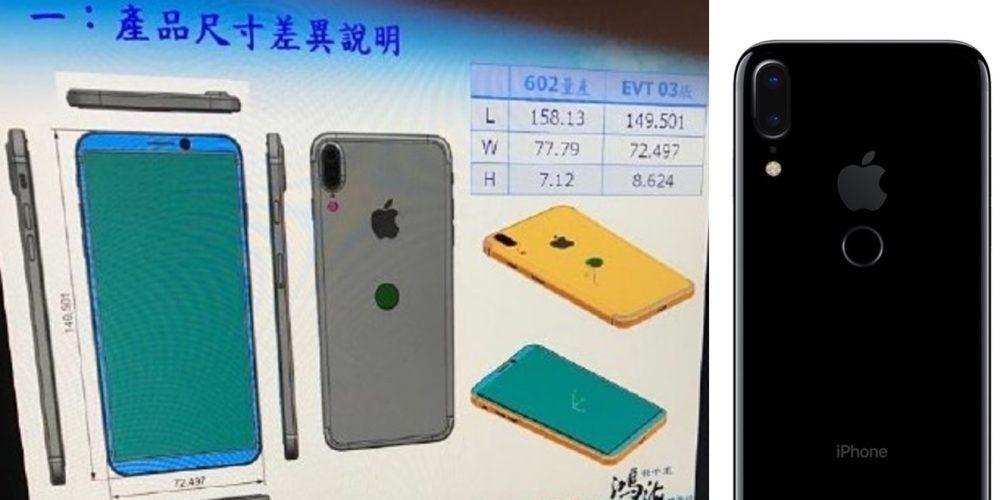 «Безрамочный» iPhone 8 напомнит о старом iPhone