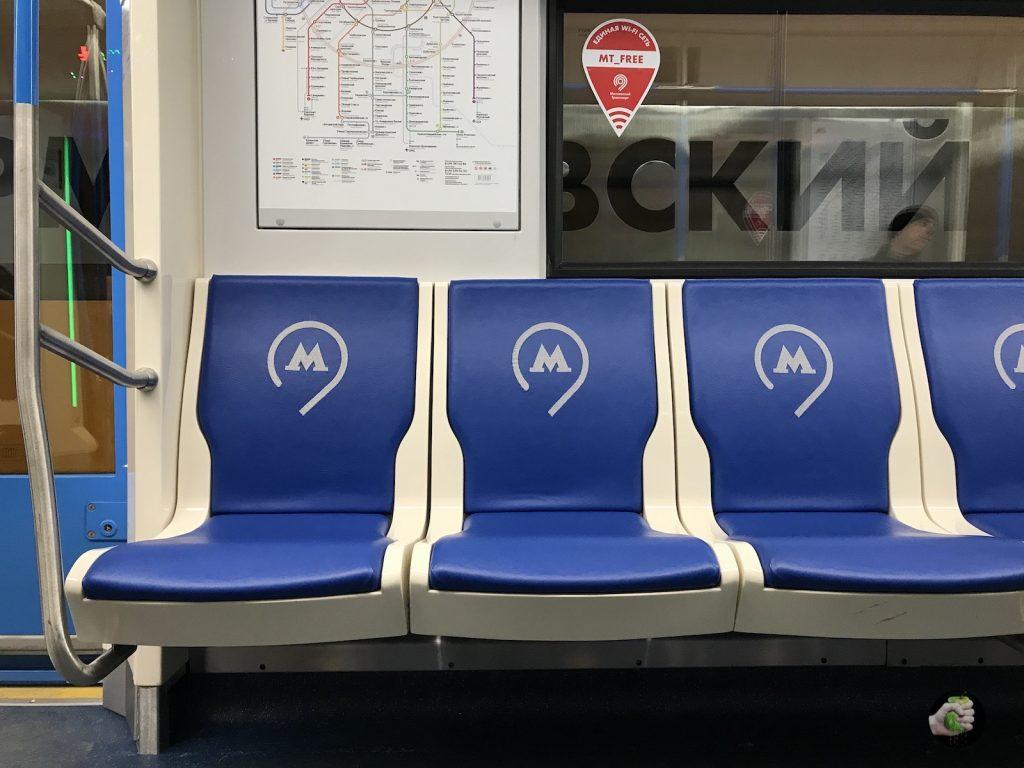 Прокатились на поезде нового поколения «Москва», он классный!