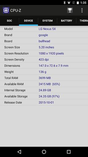 Необычный тюнинг для Nexus 5X