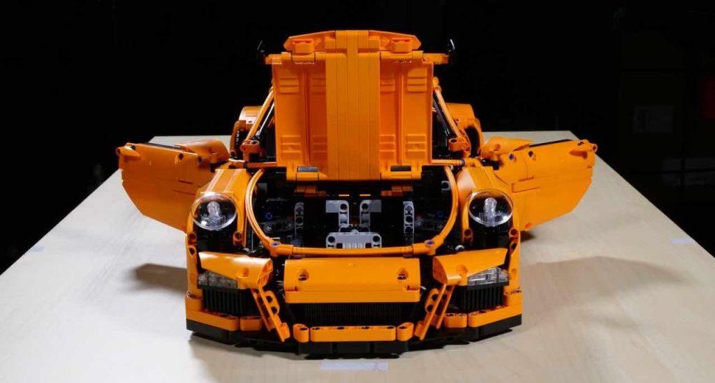 Porsche 911 GT3 RS из Lego не прошёл краш-тест