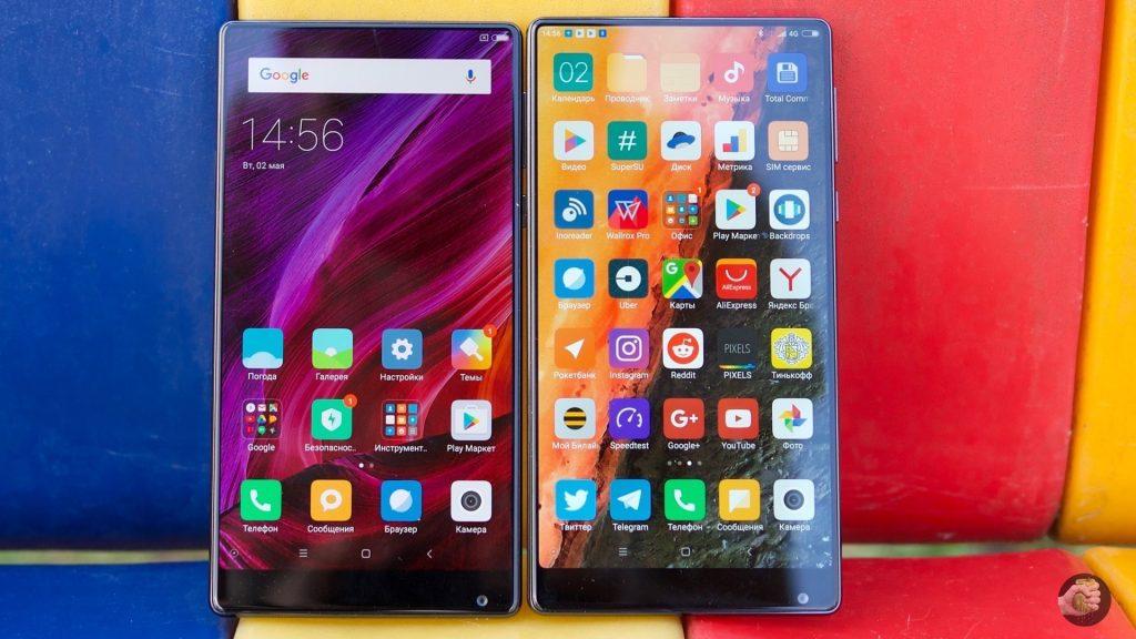 Xiaomi Mi Mix 18K: рамки меньше, золота больше