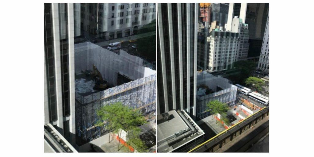Apple Cube на Пятой авеню демонтирован