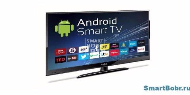 Умное телевидение на основе Андроид