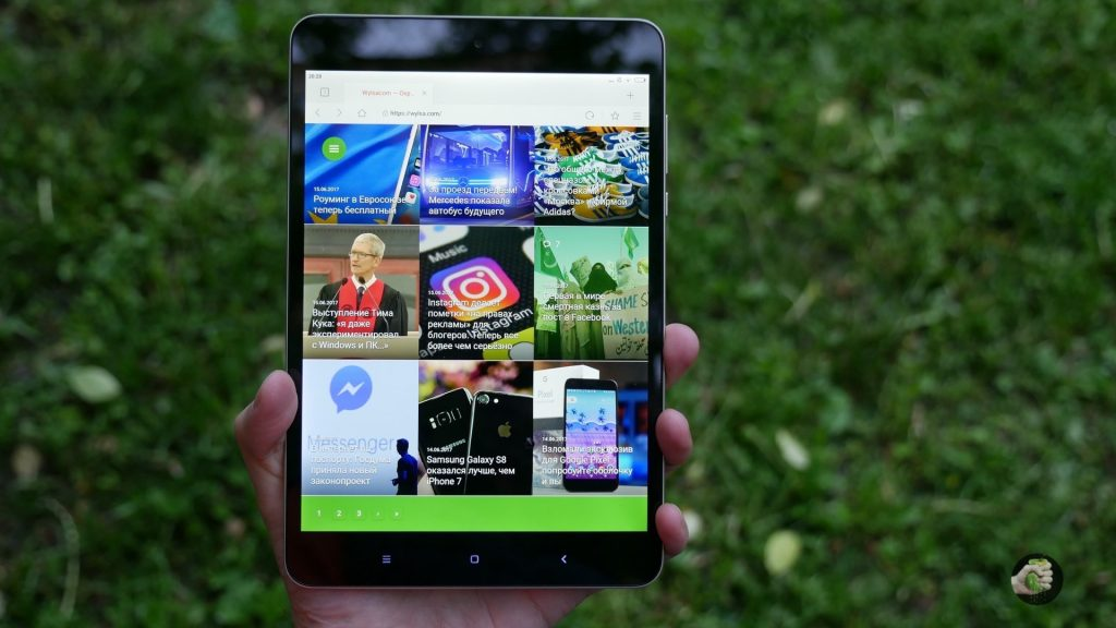 Xiaomi Mi Pad 3: как iPad mini, но на Android?