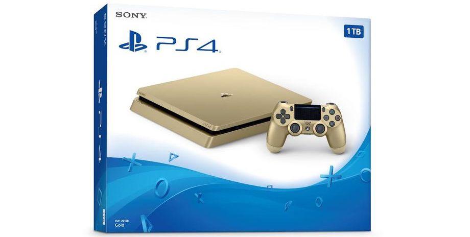 Sony выпустит спецверсию PS4 Slim по спеццене