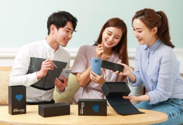 Восстановленный телефон Galaxy Note 7 может быть доступен не только в Корее