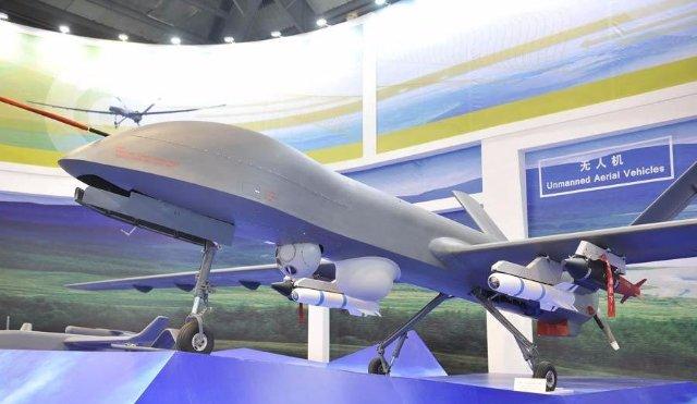 Китайский ударный беспилотник удачно прошел все испытания