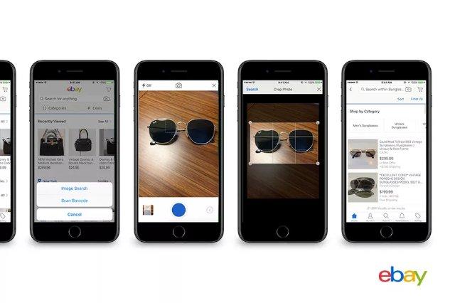 EBay скоро позволит делать покупки с помощью фотографий