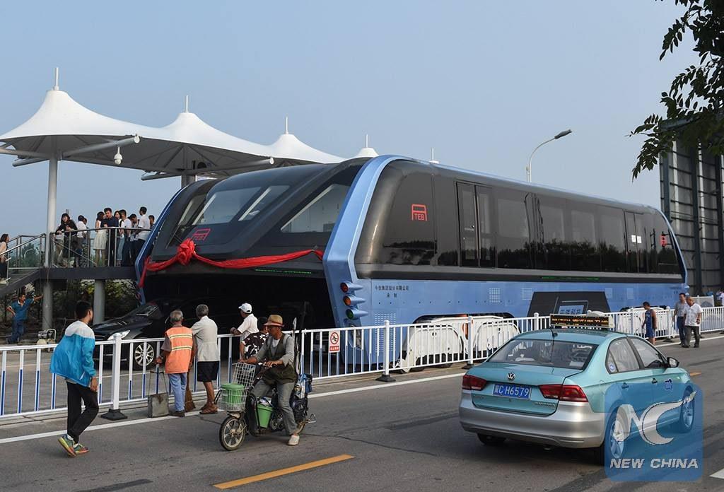 Махинации по-китайски: нашумевший проект гиганта-автобуса оказался фейком