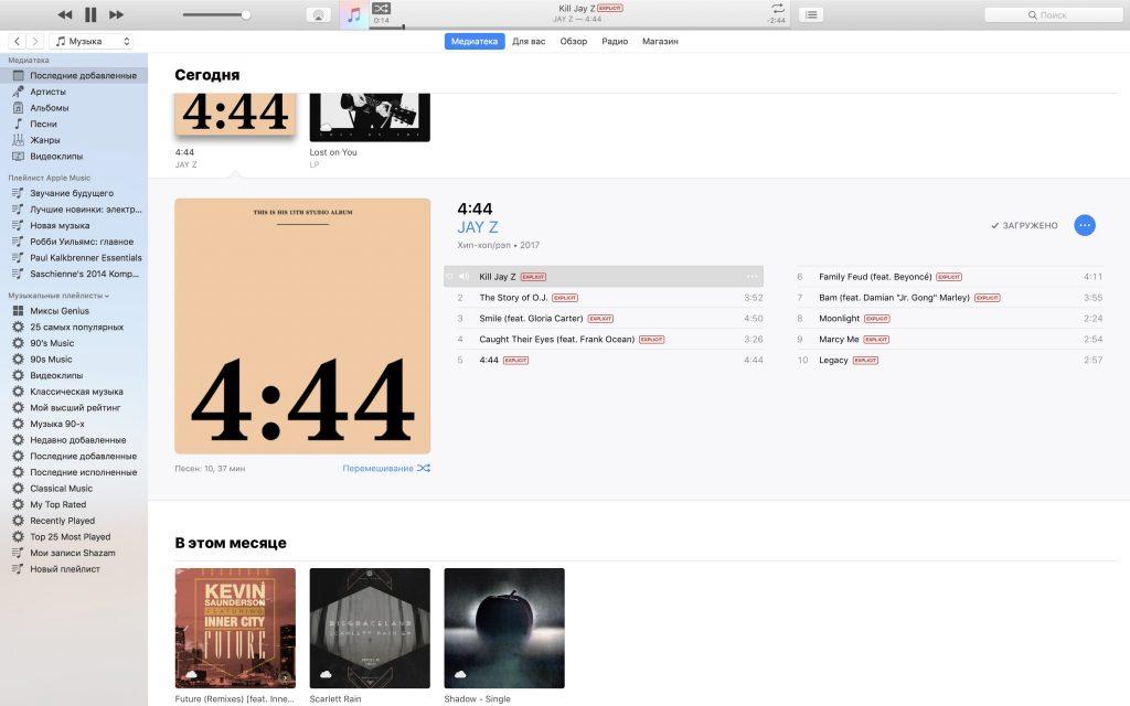 4.44, Снупп Догг, Jay.Z, Sprint — все очень сложно!
